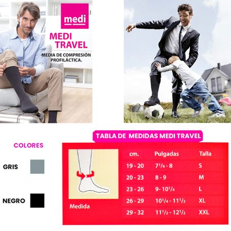 Medias-Travel-Gris